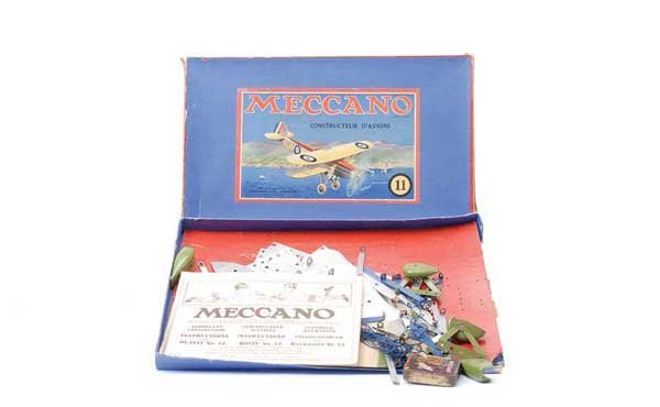5003: Meccano Export French No.11 Aeroplane Outfit
