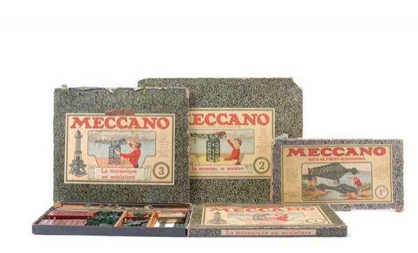 5005: Meccano Sets No.1, 1A, 2 and 3