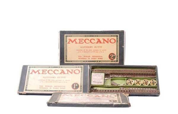 5011: Meccano Early Sets No.1A, 2 and No.2A