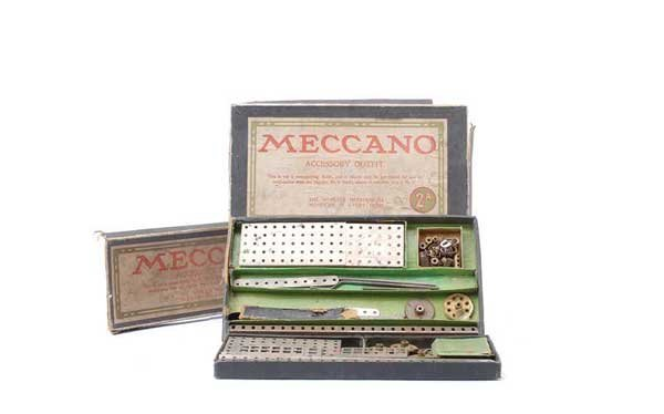 5017: Meccano Early Nickel Sets No.1A and 2A
