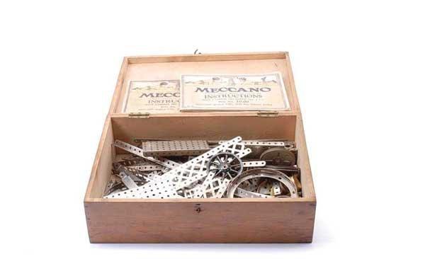 5019: Meccano Early Nickel Parts
