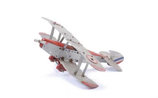 5022: Meccano Aeroplane Constructor Biplane