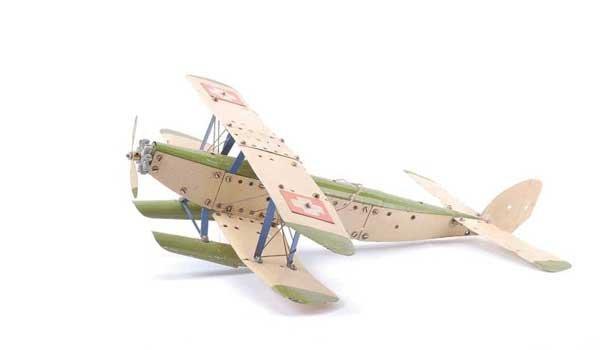 5023: Meccano Aeroplane Single Engine Seaplane