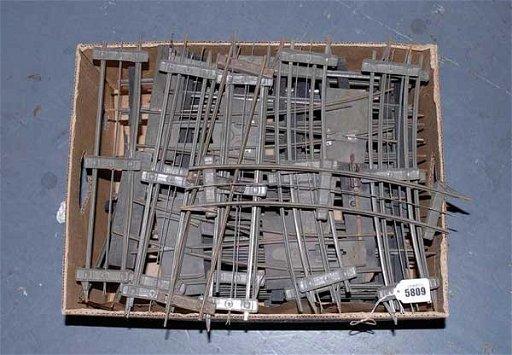 5809: Marklin & Bing Gauge 1/2 & 3-rail Tinplate Track
