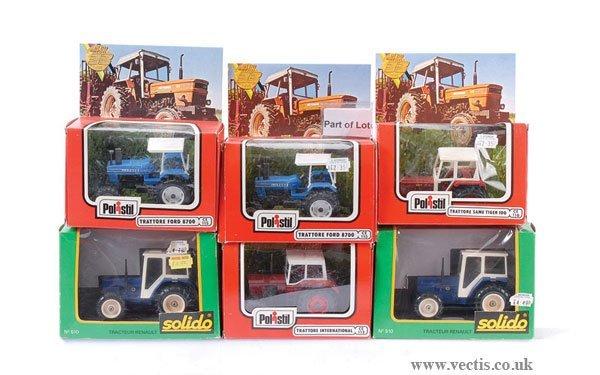 13: Solido, Cofradis, Trattore & Other Tractors