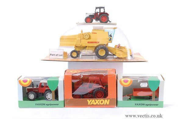 14: Yaxon - A Group of Tractors