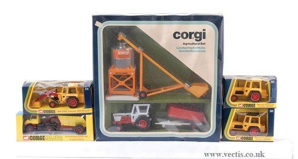18: Corgi No.42 Agricultural Set & Others