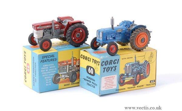 21: Corgi No.60 & No.66 Tractors