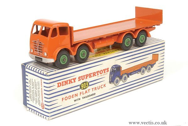 478: Dinky No.903 Foden 2nd Cab Flat Truck