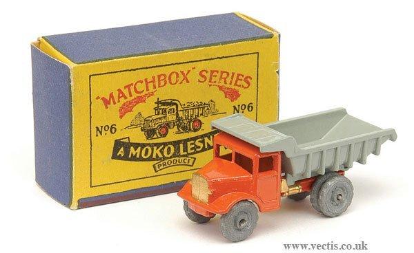 1001: Matchbox No.6a Quarry Truck