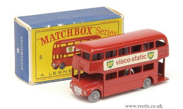 "1003: Matchbox No.5c Routemaster Bus ""BP"""