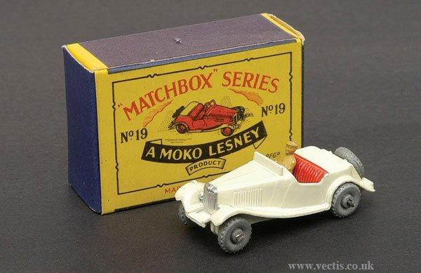 1006: Matchbox No.19a MG TD Sports Car