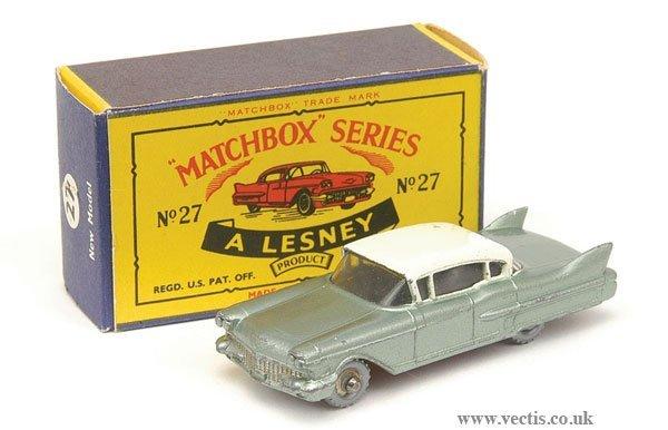 1016: Matchbox No.27c Cadillac Sixty Special