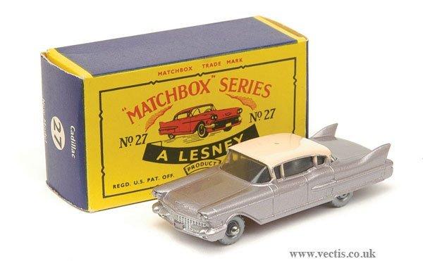 1017: Matchbox No.27c Cadillac Sixty Special
