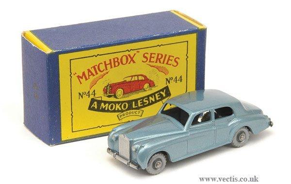 1018: Matchbox No.44 Rolls Royce Silver Cloud