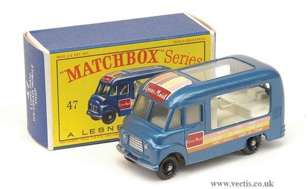 "1021: Matchbox No.47b Ice Cream Van ""Lyons Maid"""