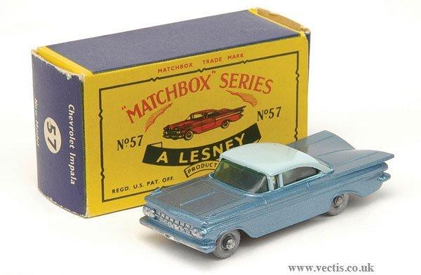 1024: Matchbox No.57b Chevrolet Impala