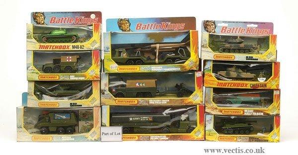 1137: Matchbox No.K113 Mobile Crane & Others