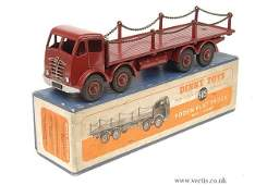 1679: Dinky No.505 Foden Flat Truck with Chains