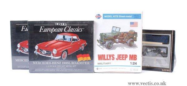 2001: ERTL, Gonio, Verem Metal Kits