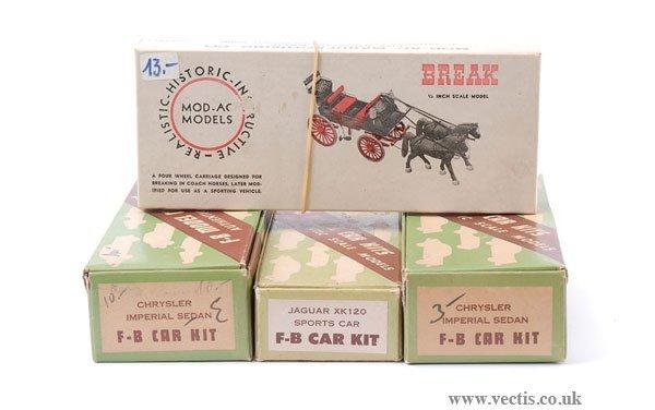 2005: SV, Break - A Group of Wooden Kits