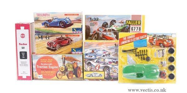 2012: A Group of Motorised Plastic Car Kits