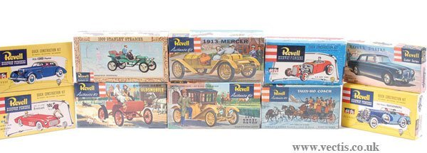 2019: Revell - A Group of Kits