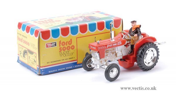 2024: Hover Ford 5000 Super Tractor