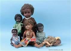 2674: A Group of Hard Plastic/Vinyl/Composition Dolls