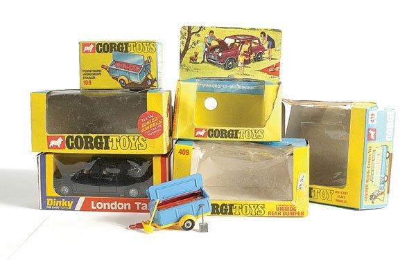 3003: Corgi - A Group of Empty Boxes