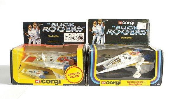 "3006: Corgi No.647 ""Buck Rogers"" - Star Fighter"