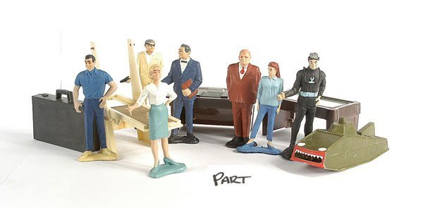3020: Gilbert - Unboxed James Bond Figures & Others