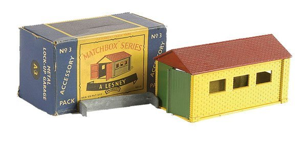3021: Matchbox Accessory Pack No.A3 Lock-up Garage