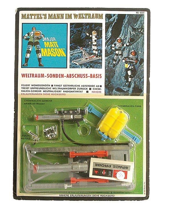 "3024: Mattel No.6307 ""Matt Mason"" Spaceprobe Pack"