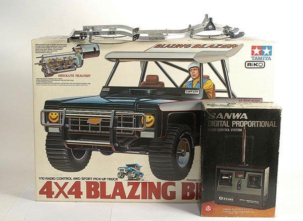 3389: Tamiya No.RA1029 4 x 4 Blazing Blazer RC Car