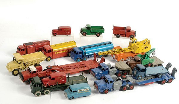 3482: Dinky Toys - Unboxed Repainted Commercials