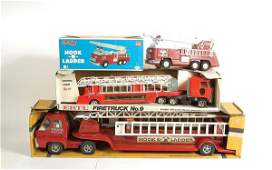 3566: Structo (ERTL) Aerial Hook & Ladder Fire Truck