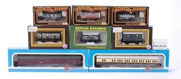 4006: OO Gauge Passenger and Goods Rolling Stock