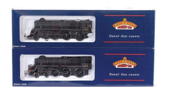 4015: Bachmann 4-6-0 BR 4MT Steam Locos x 2