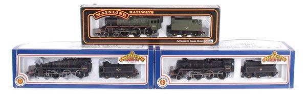 4017: OO Gauge 4-6-0 BR Standard Class 4MT Steam Locos