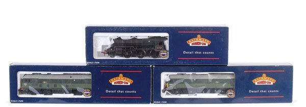 4019: Bachmann - A Trio of Steam and Diesel Locos