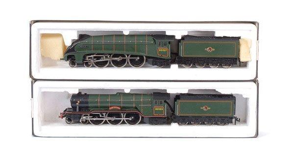 4020: Lilliput - 4-6-2 BR (ER) Green Steam Locos x 2