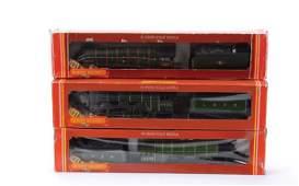 4091: Hornby Railways 4-6-2 Steam Locos x 3