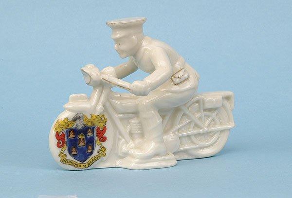 601: Arcadian Despatch Rider [4.5 x 3.5 ins] Ca 1920