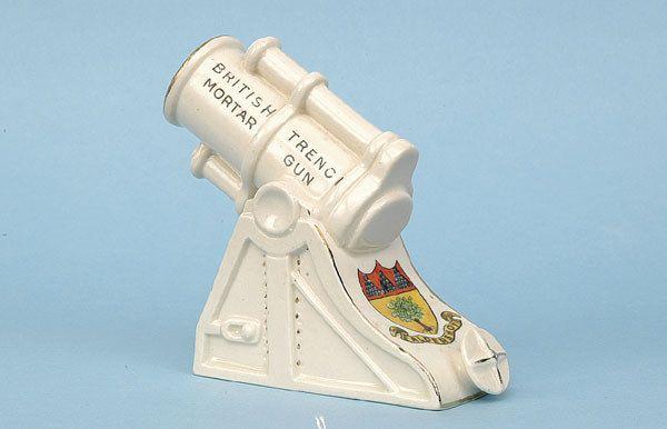 WWI British Mortar [4 x 3.75 ins] Ca 1914