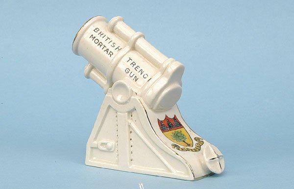 608: WWI British Mortar [4 x 3.75 ins] Ca 1914