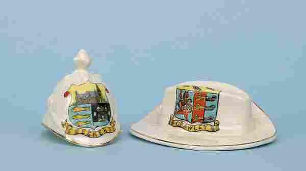 British Home Service Helmet [2.25x2ins] Ca 1910