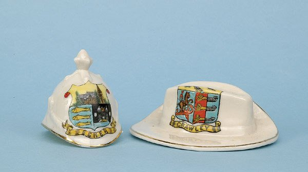 609: British Home Service Helmet [2.25x2ins] Ca 1910