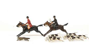 1466 Britains Hunt Series  full cry