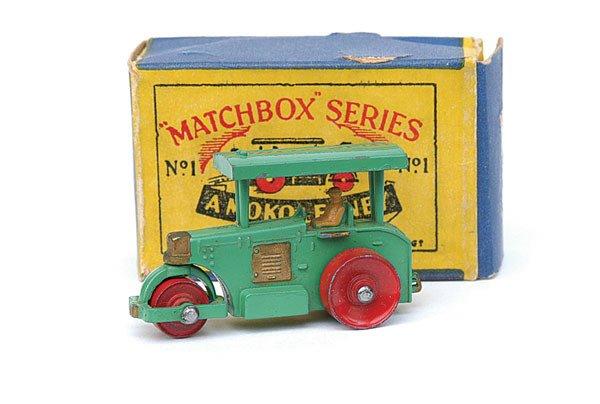 2001: Matchbox No.1 Diesel Road Roller